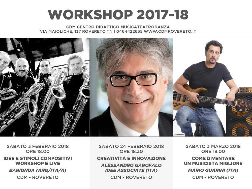 Workshop musicali 2017/18